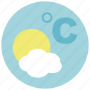 celcus, forecast, temperature, weather icon