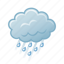 cloud, meteorology, rain, weather icon