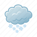 snow, weather, winter icon
