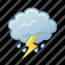 lightning, storm, thunderstorm, weather