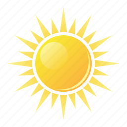 summer, sun, sunlight icon