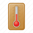 degree, temperature, thermometer icon