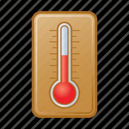 degree, temperature, thermometer icon