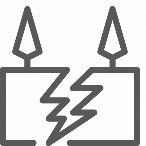 dangerous, disaster, earth, earthquake, forecast, ground, weather icon