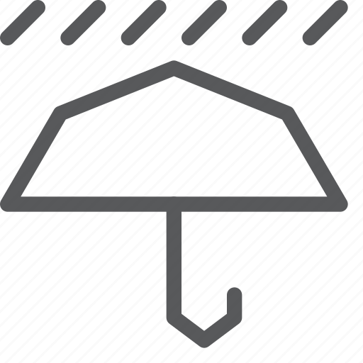forecast, open, protect, rain, umbrella, weather icon