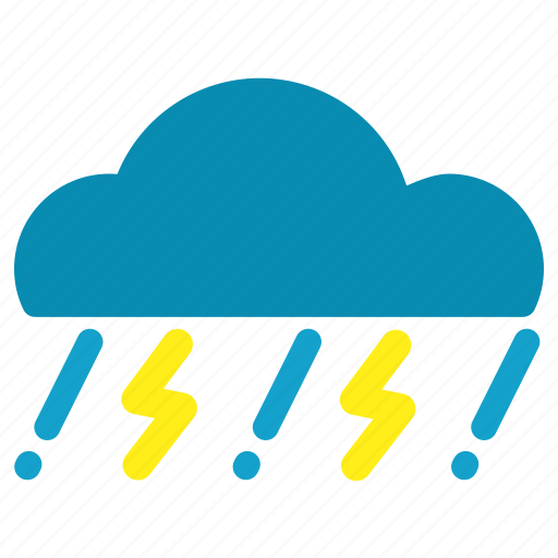 Cloud, rain, thunderstorm icon - Download on Iconfinder