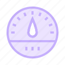 caliper, meter, performance, temperature, weather icon