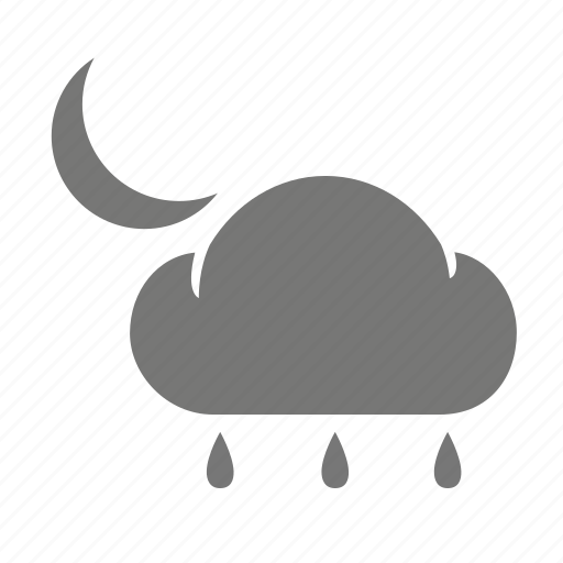 cloud, drizzle, meteorological, meteorology, rain, weather, weatherproof icon