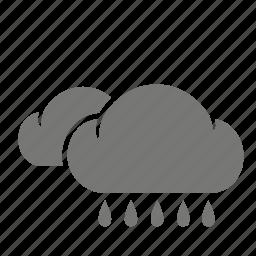 cloud, meteorological, meteorology, rain, rainy, weather, weatherproof icon