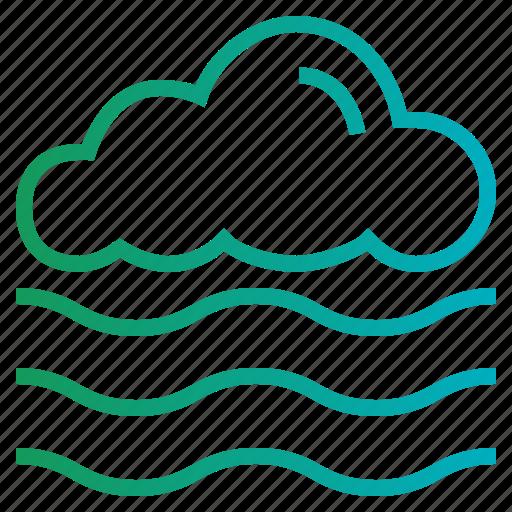 Fog, mist, weather icon - Download on Iconfinder