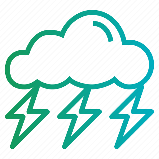 Rain, storm, thunder icon - Download on Iconfinder