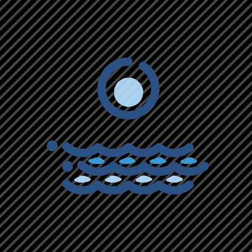 forecast, ocean, sea, sunrise, weather icon