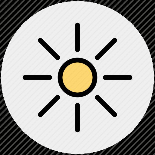 day, hot, sun, sunlight, sunny icon