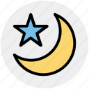 star, forecast, weather, sleep, night, moon, islam
