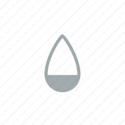 drop, humidity, precipitation, rain, weather, wet icon