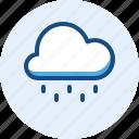 drizzle, season, weather icon