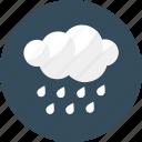 cold, night, rain, shower, weather, winter icon