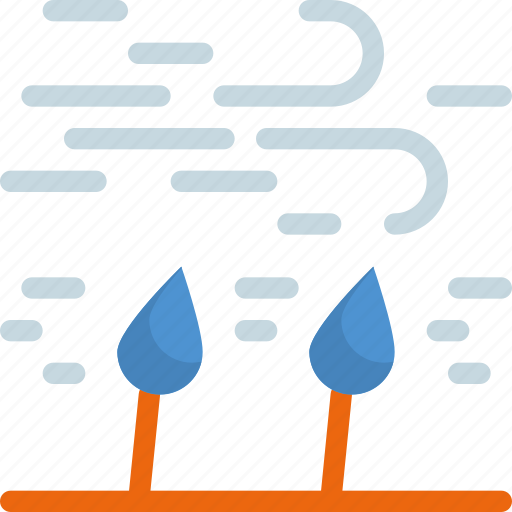 climate, forecast, tree, weather, wind, windy icon