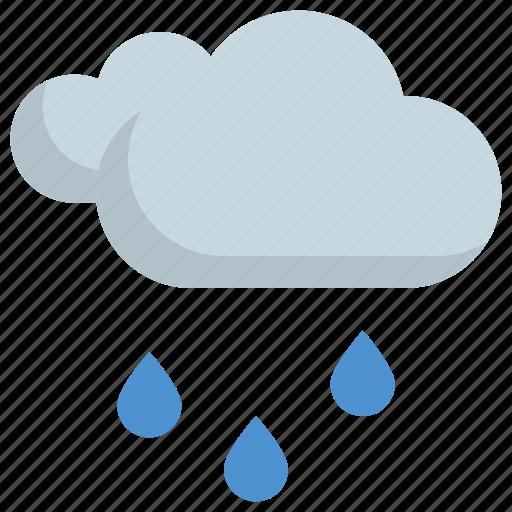 climate, cloud, forecast, rain, rainy, weather icon