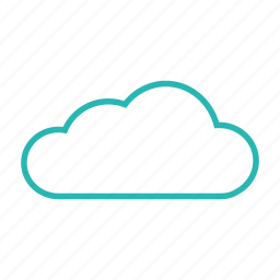 cloudy, mostly cloudy, overcast, weather icon