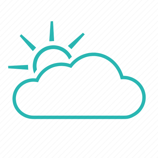 cloudy, dark, partly cloudy, weather icon