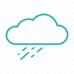 drizzle, rain falls, rainy, storm, weather icon