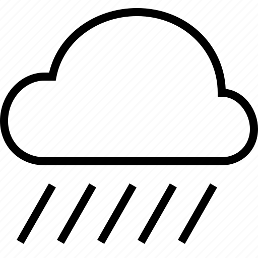 cloud, rain, storm, temperature, weather icon