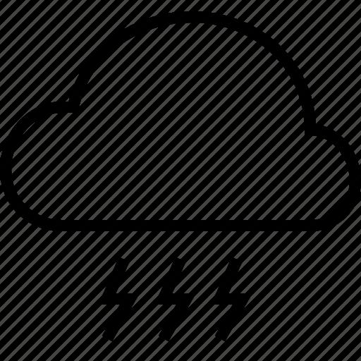 cloud, cloudy, rain, storm, weather icon