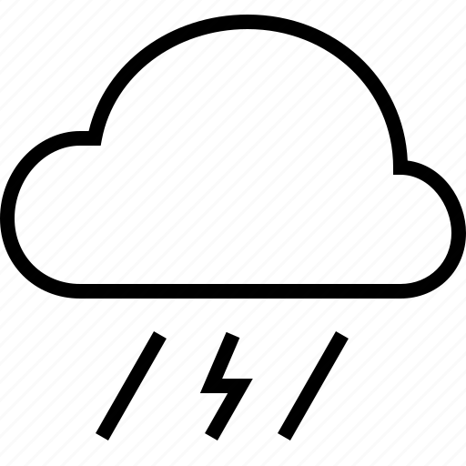 cloud, cloudy, rain, tempest, weather icon