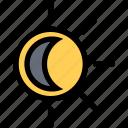 eclipse, penubra, shroud, sun