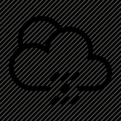 climate, condition, forecast, rain, sun, weather icon