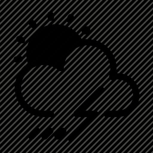 Climate, forecast, lightning, thunder, weather icon - Download on Iconfinder