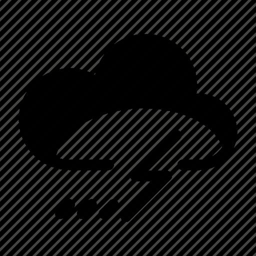 climate, forecast, lightning, thunder, thunderstorm, weather icon