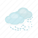 cloud, cloudy, forecast, weather, wind, windy
