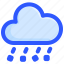 cloud, hail, ice, storm, weather icon