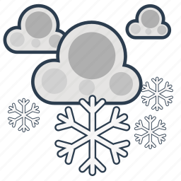 climate, cloud, forecast, meteorology, summer, weather, winter icon