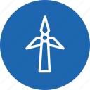 energy, power, technology, turbine, weather, wind, windmill icon