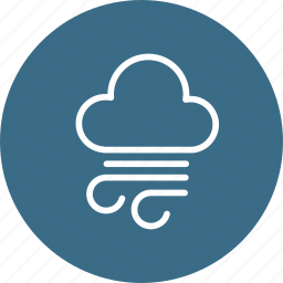 cloud, cloudy, dark, forecast, storm, thunder, weather icon