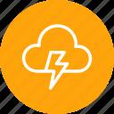 cloud, cloudy, forecast, light, lightning, thunder, weather