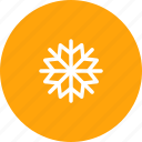 flake, heavy, nature, snow, snowfall, snowflake, weather icon