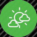 cloud, clouds, cloudy, forecast, sun, sunny, weather