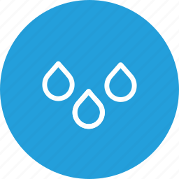 drib, drop, heavy, rain, sky, waterdrop, weather icon