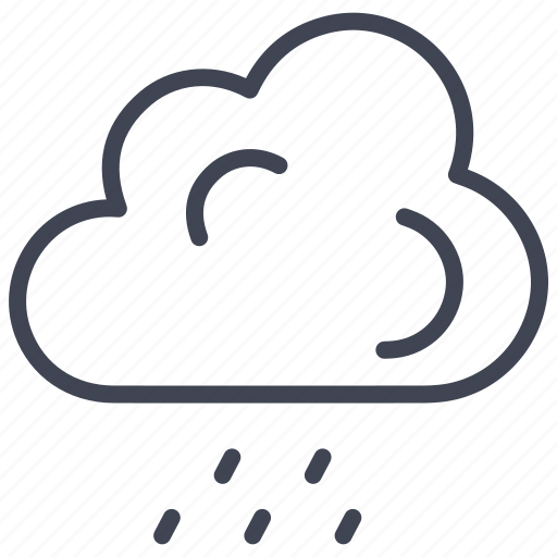 cloud, forecast, rain, snow, weather, winter icon