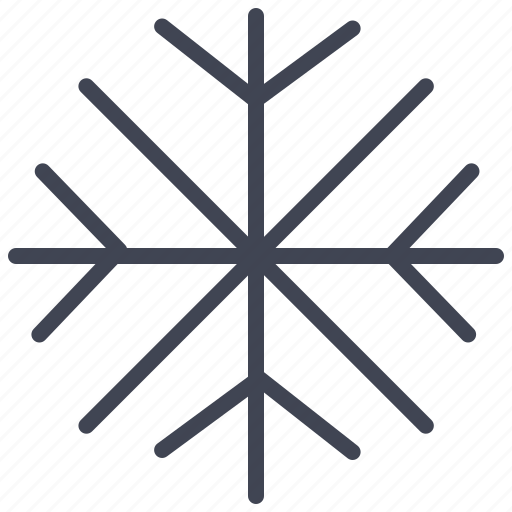 Snowflake, forecast, snow, weather, winter icon - Download on Iconfinder