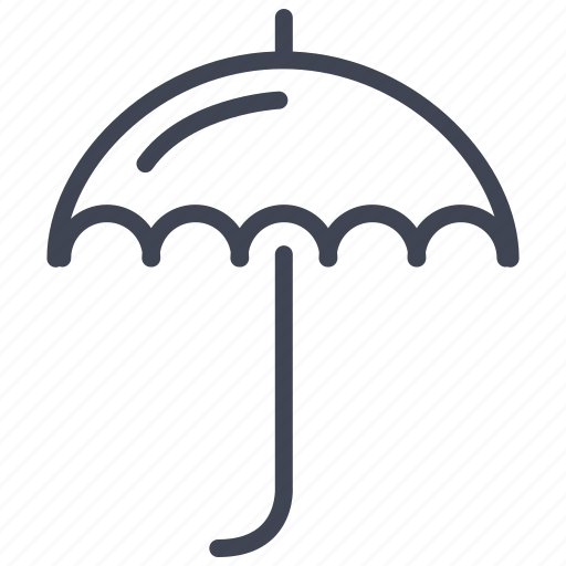 forecast, rain, storm, umbrella, weather icon