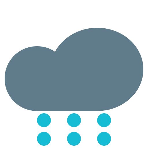 climate, cloud, forecast, snowing, weather icon