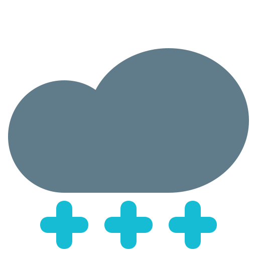 climate, cloud, flake, forecast, weather icon