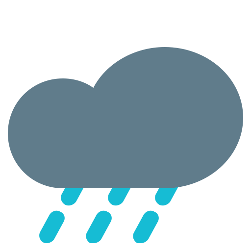 climate, cloud, forecast, heavy, rain, weather icon