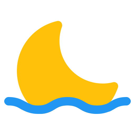 cloud, forecast, moon, reflection, weather icon