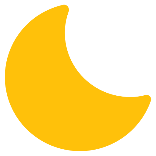 forecast, moon, night, sky, weather icon